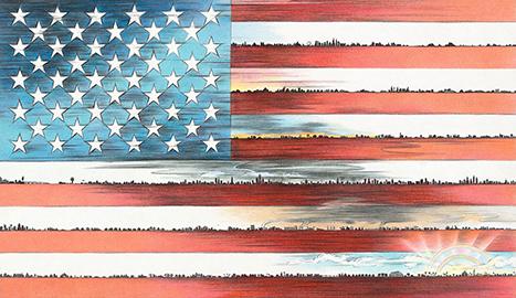 it-takes-a-village-flag
