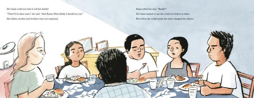 Hula family dinner