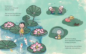Natsumi lily pads